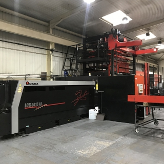 Automated AMADA machines help architectural specialist double in size